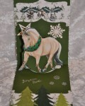 carte Noël pop up 3D cheval 001