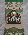 carte Noël pop up 3D crèche 002