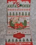 carte Noël pop up 3D ours 001