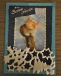 carte de Noël 3D chat 004