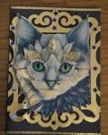 carte de Noël 3D chat 008
