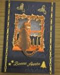 carte de Noël 3D chat 019