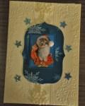 carte de Noël 3D chat 031