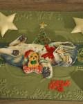 carte de Noël 3D chat 049