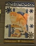 carte de Noël 3D chat 005