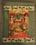 carte de Noël 3D chat 006