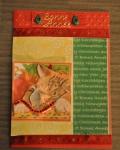 carte de Noël 3D chat 009