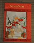 carte de Noël 3D chat 014
