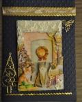 carte de Noël 3D chat 033