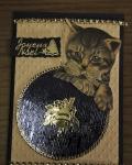 carte de Noël 3D chat 036