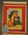 carte de Noël 3D cheval 002