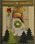 carte de Noël 3D cheval 003