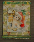 carte Noël 3D chien 005