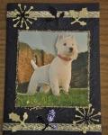 carte Noël 3D chien 001