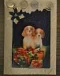 carte Noël 3D chien 011