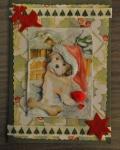 carte Noël 3D chien 012