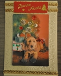 carte Noël 3D chien 015