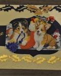 carte Noël 3D chien 017