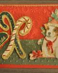 carte Noël 3D chien 019