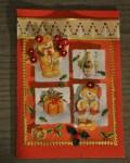 carte Noël 3D ours 001