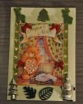 carte Noël 3D ours 003