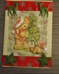 carte Noël 3D ours 004