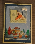 carte Noël 3D ours 002