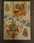 carte Noël 3D ours 005