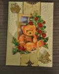 carte Noël 3D ours 006