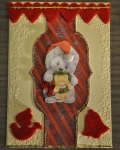 carte Noël 3D ours 010