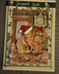 carte Noël 3D ours 011
