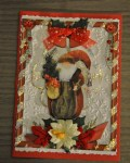 carte Noël 3D pere noel 011