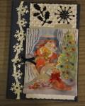 carte Noël 3D pere noel 013