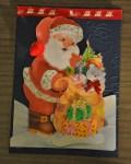 carte Noël 3D pere noel 014
