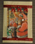carte Noël 3D pere noel 016