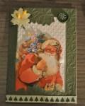 carte Noël 3D pere noel 018