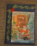 carte Noël 3D pere noel 023
