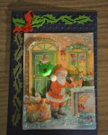 carte Noël 3D pere noel 024