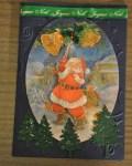 carte Noël 3D pere noel 025
