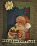 carte Noël 3D pere noel 027